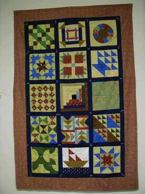 The Edwards History And Genealogy Center Sampler Quilt For The